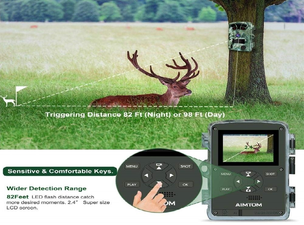 AIMTOM T905 Hunting Trail Camera Review