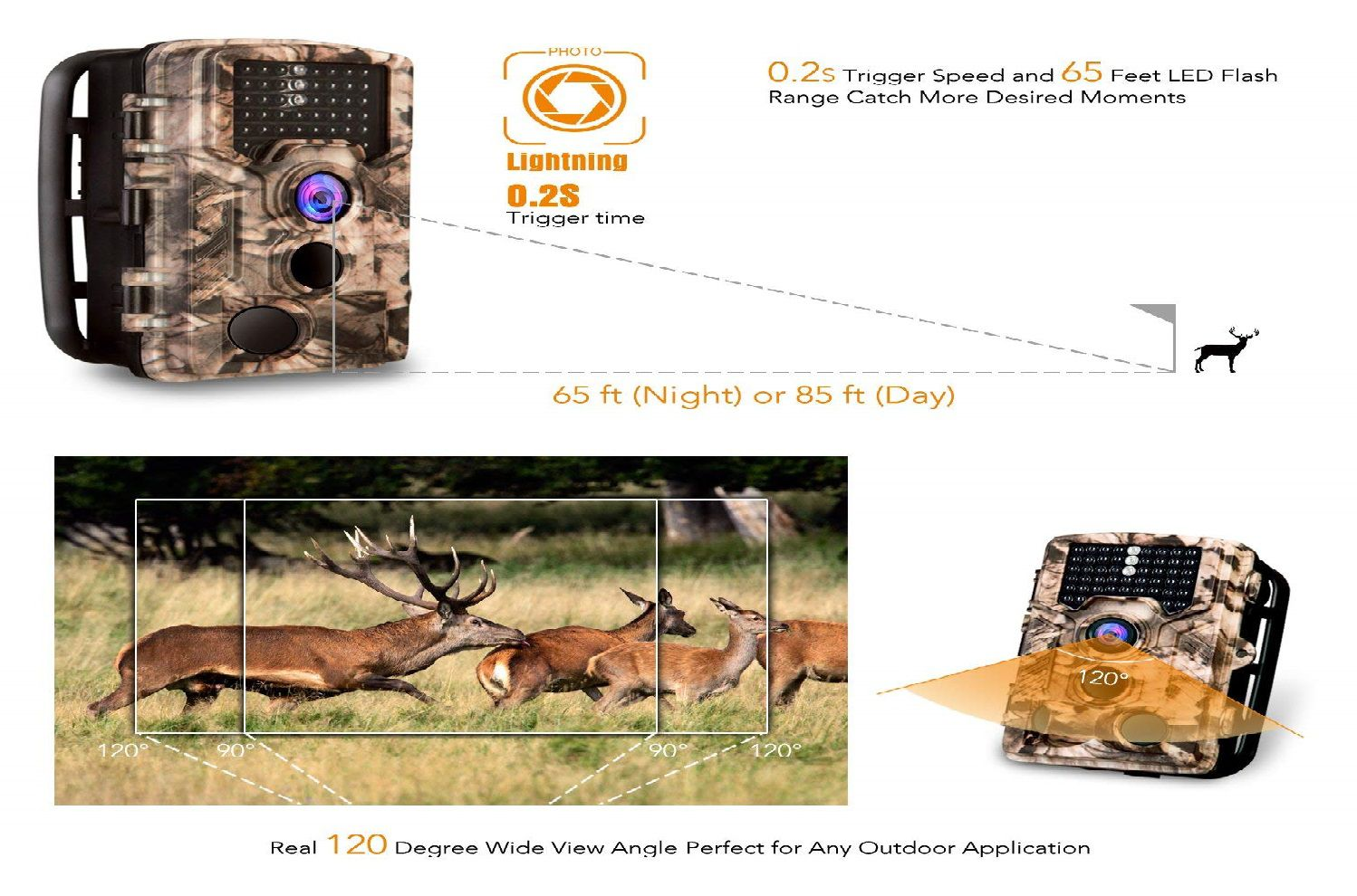 AIMTOM Trail Game Hunting Camera