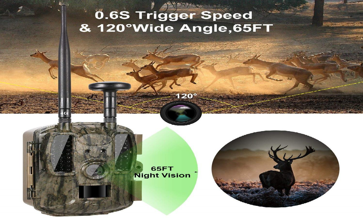 Ancheer 4G Wireless Trail Camera