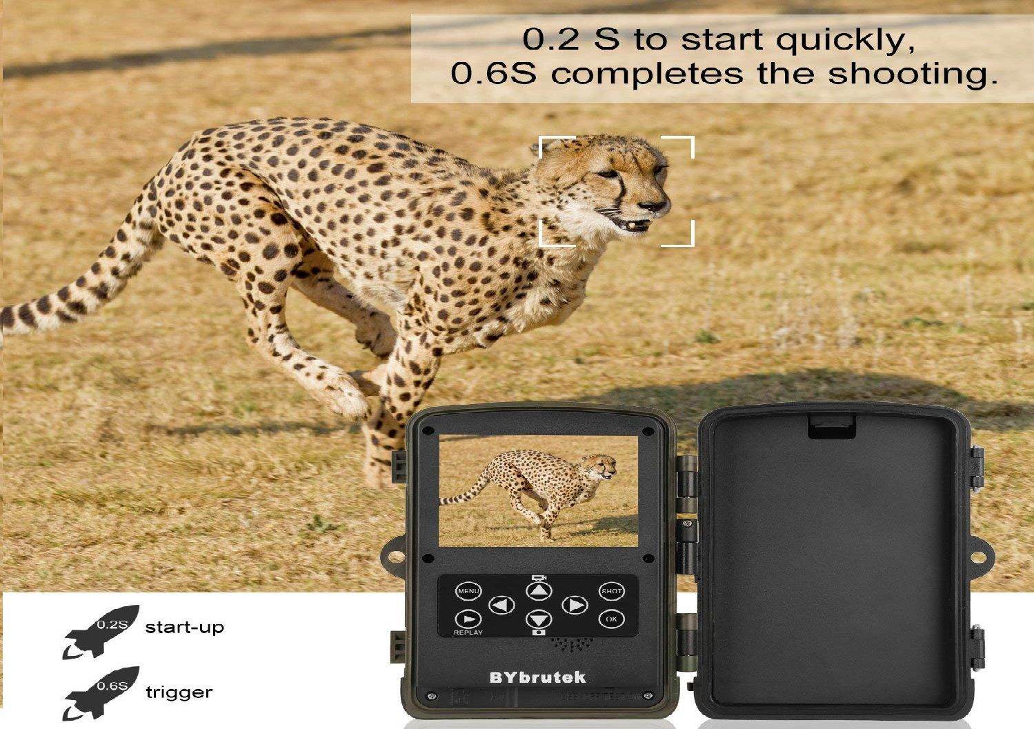 BYbrutek Hunting Game Camera Review