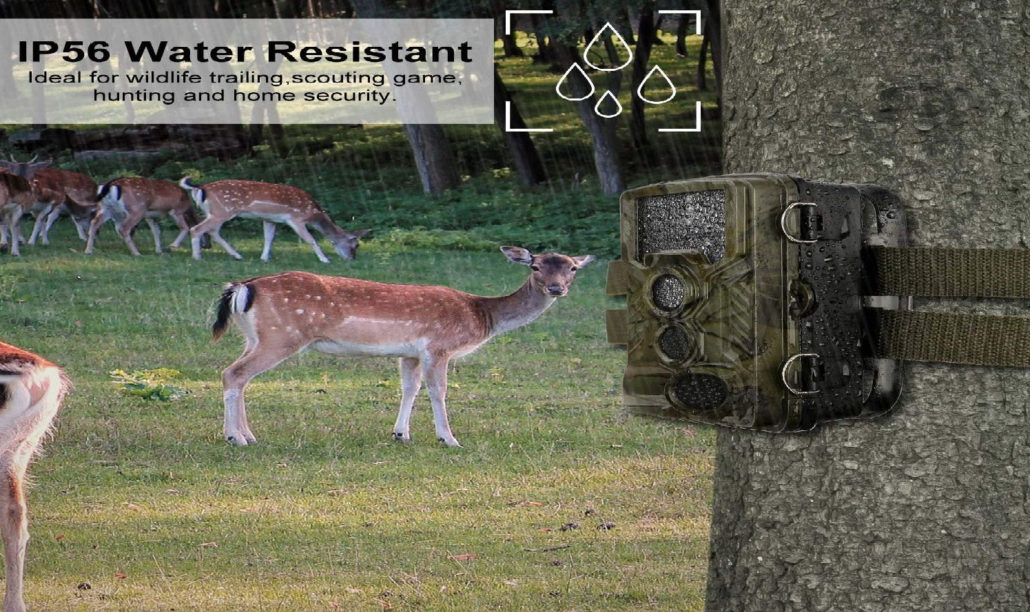 BYbrutek Hunting Trail Camera
