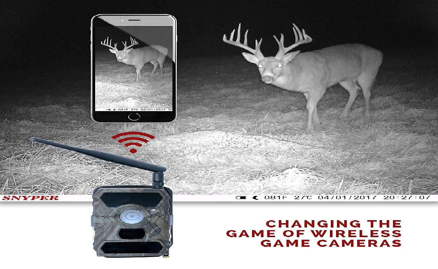 Snyper Hunting Wireless Trail Camera