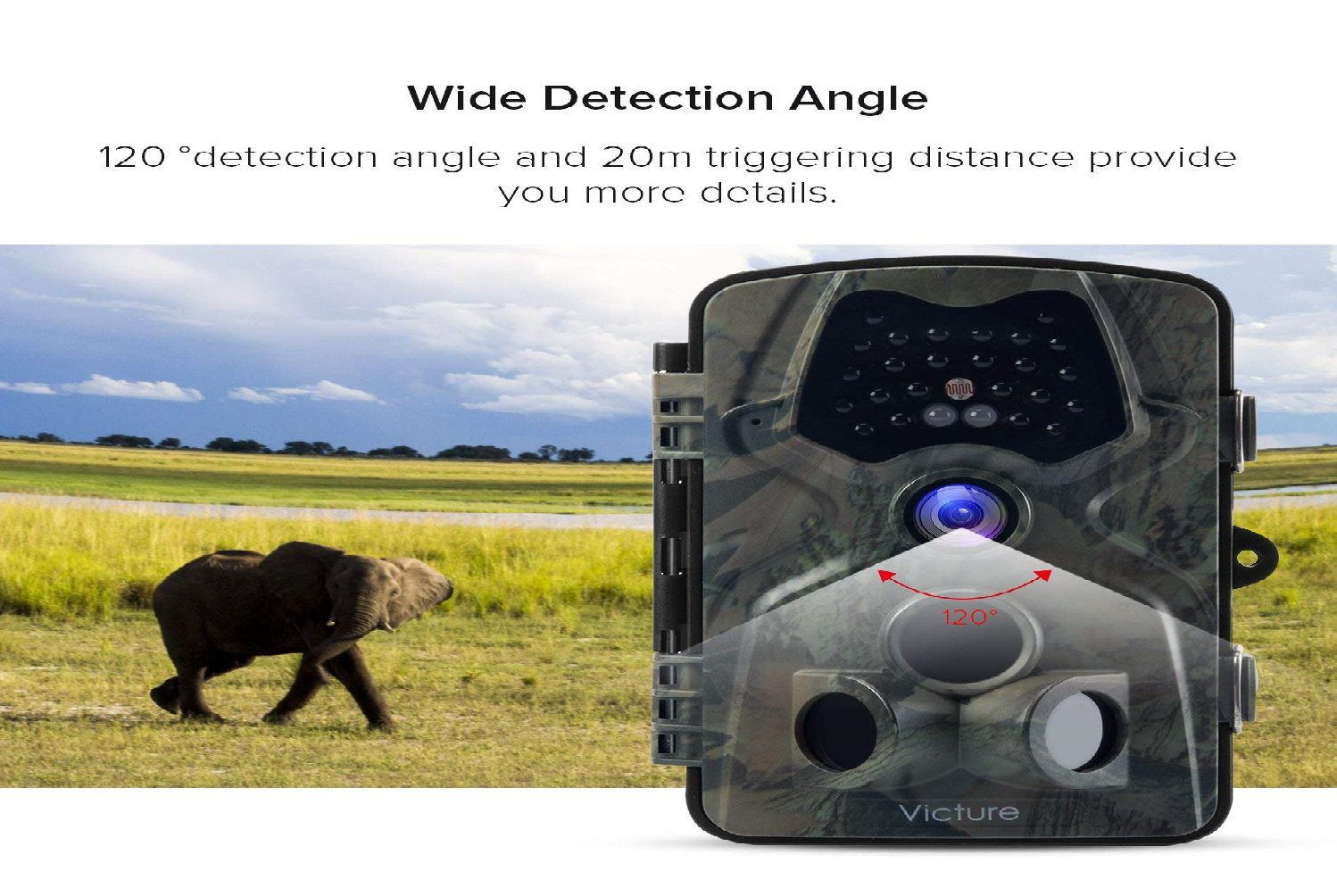 Victure Trail Camera 1080P 12MP Wildlife Camera Review