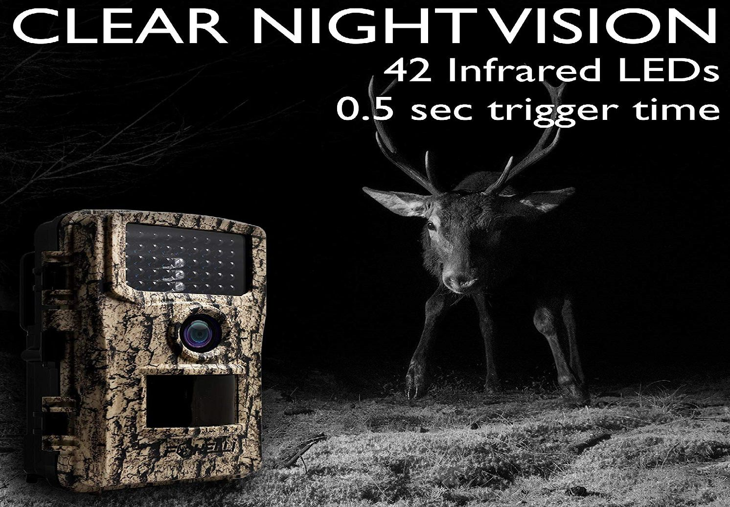 Foxelli Trail Game Camera