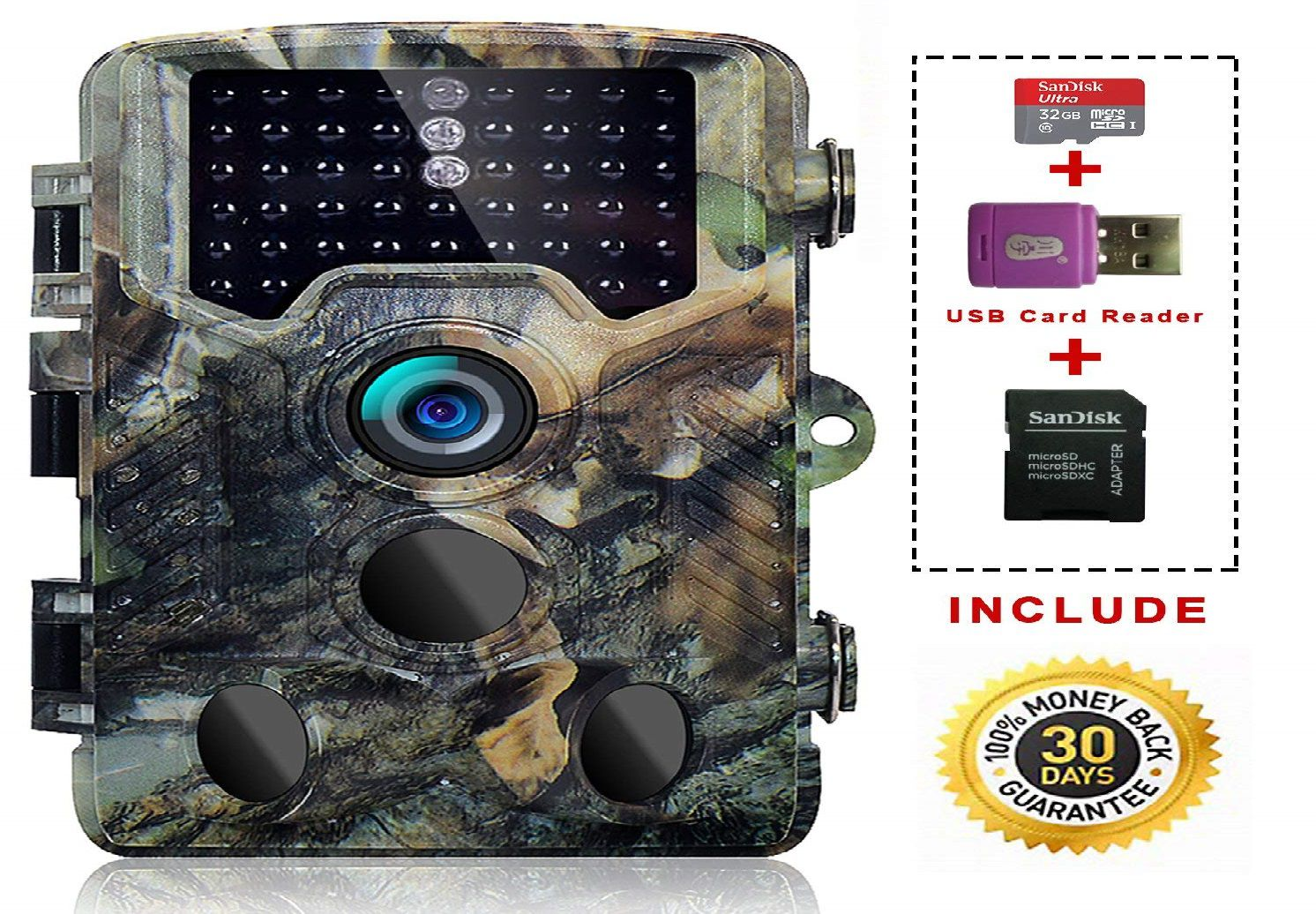 Sovacam 16MP 1080P Trail Game Camera Review