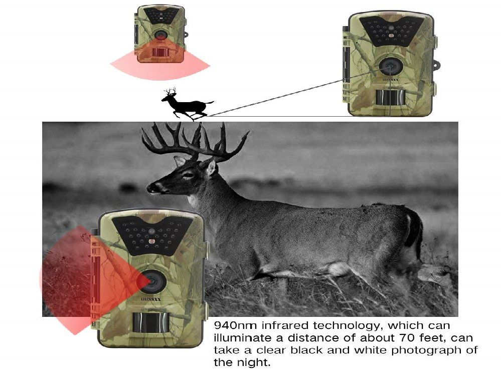 OOSSXX Game Camera