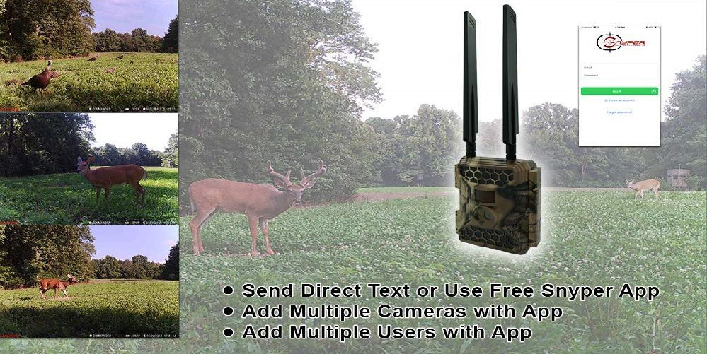 Snyper Commander 4G LTE Trail Game Camera