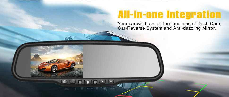 Auto-Vox T1400 Mirror Camera Review