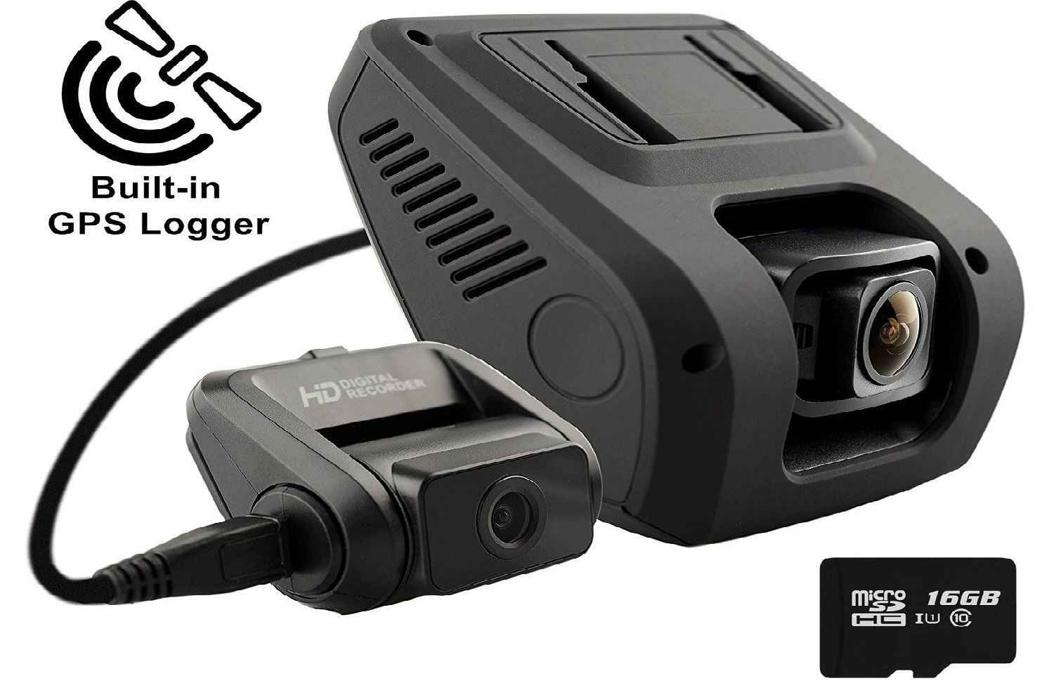 Rexing V1LG Dual Dash Camera