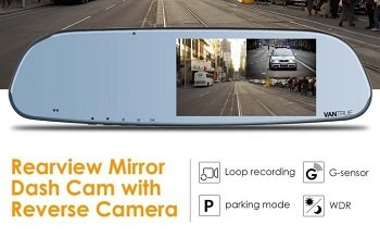 Features For Rear View Mirror Dash Cam